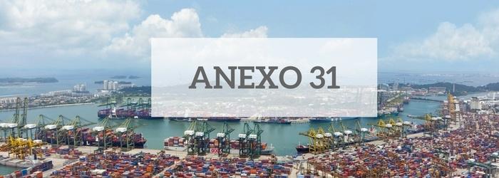 Qu Es El Anexo 31 De Las Reglas Generales De Comercio Exterior